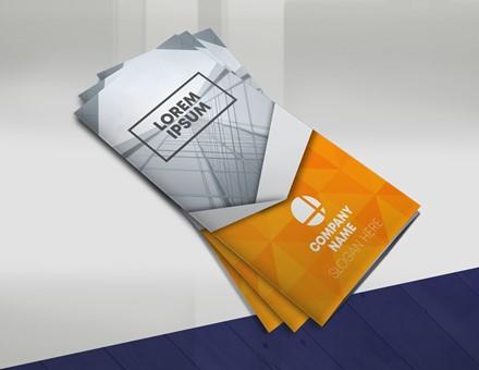 Orange Trifold Brochure IMPBROC002