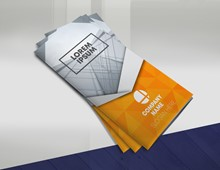 Orange Trifold Brochure IMPBROC002