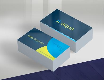 Aqua Business Card IMPBUSC001